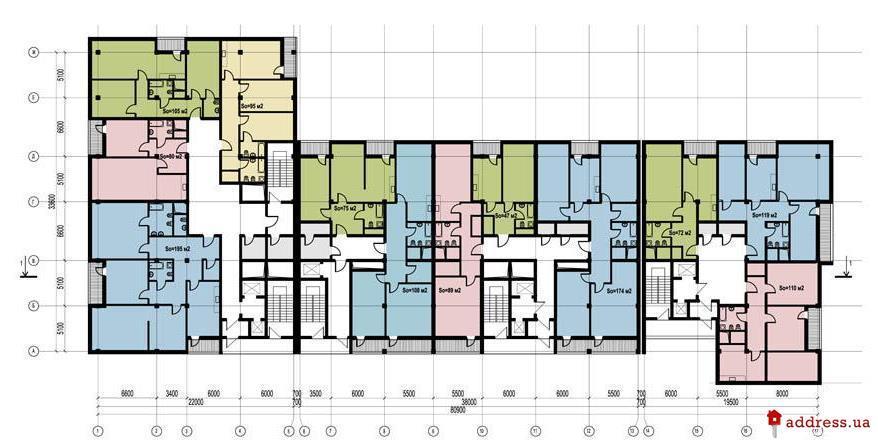 ул. Шмидта 15: План этажа