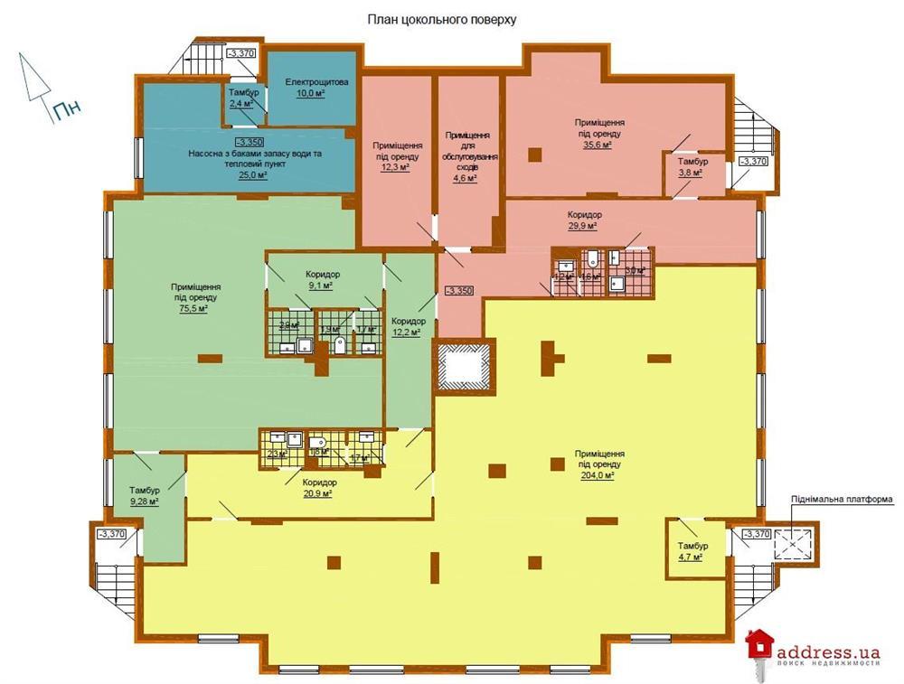 ЖК Марко Поло: Планировки этажей