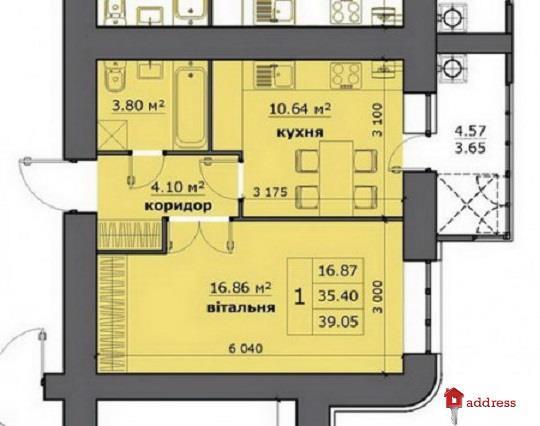ЖК на Стрыйской: 1-комнатные