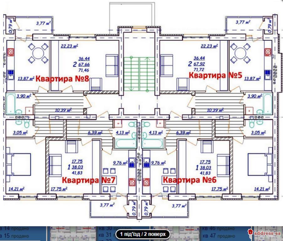 ЖК Новый (Новий): Планировки дома 197