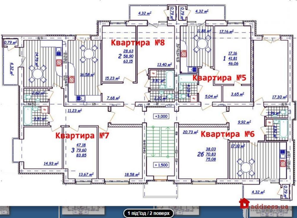 ЖК Новый (Новий): Планировки дома 189