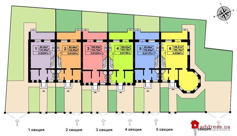 ЖК Соборна фортеця: Генплан