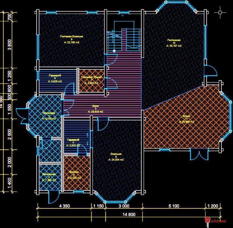 Riverside Family Club (Риверсайд Фэмили Клаб): Коттедж 300,00 м2