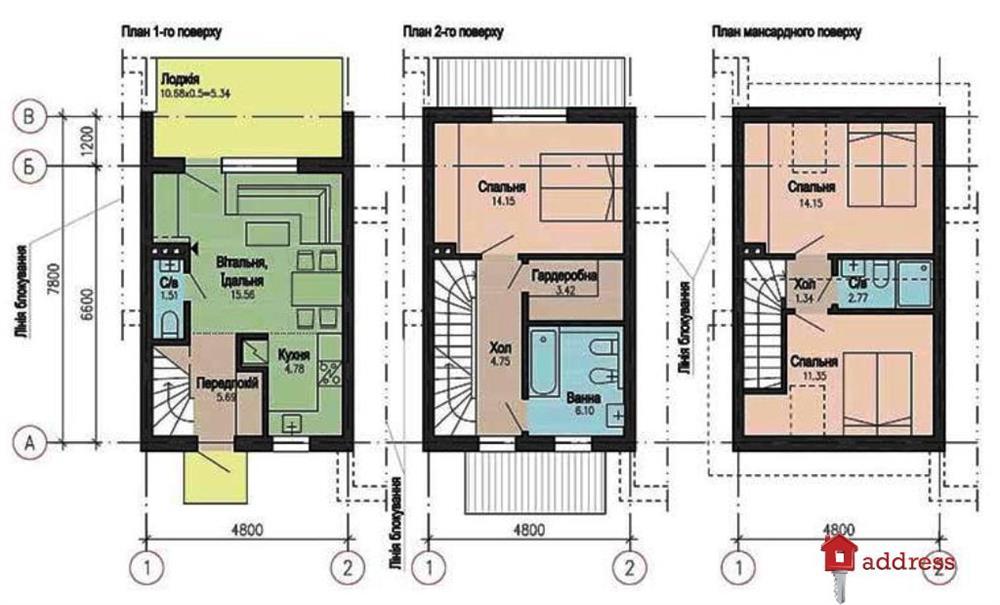 КГ Польский уголок (Polish Hill): Планировки домов