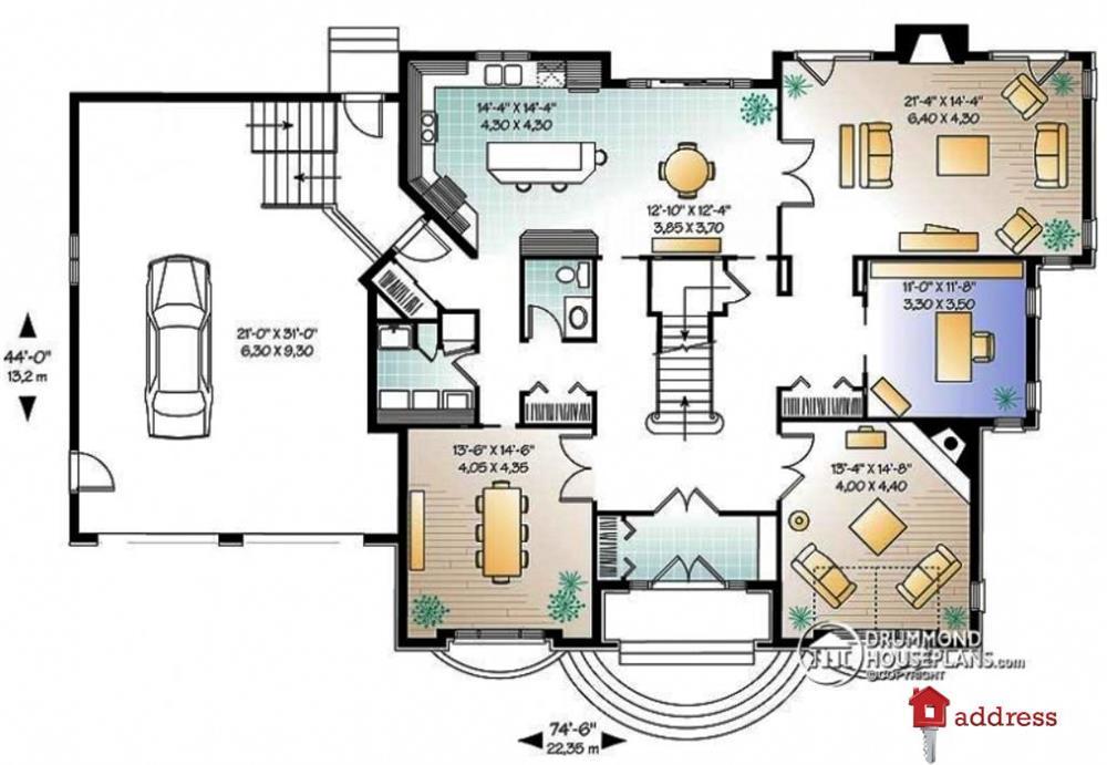 КГ Forbs House. Проект «Радичі» (Радичи): Лондон 446,76 м2