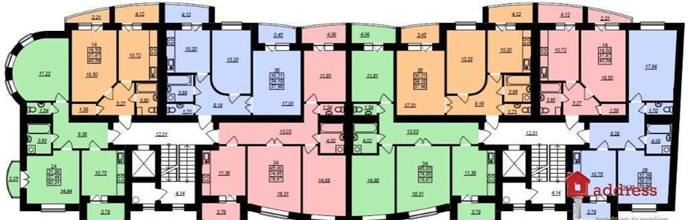 вул. Пасічна, 39 (Пасечная, 39): План этажа