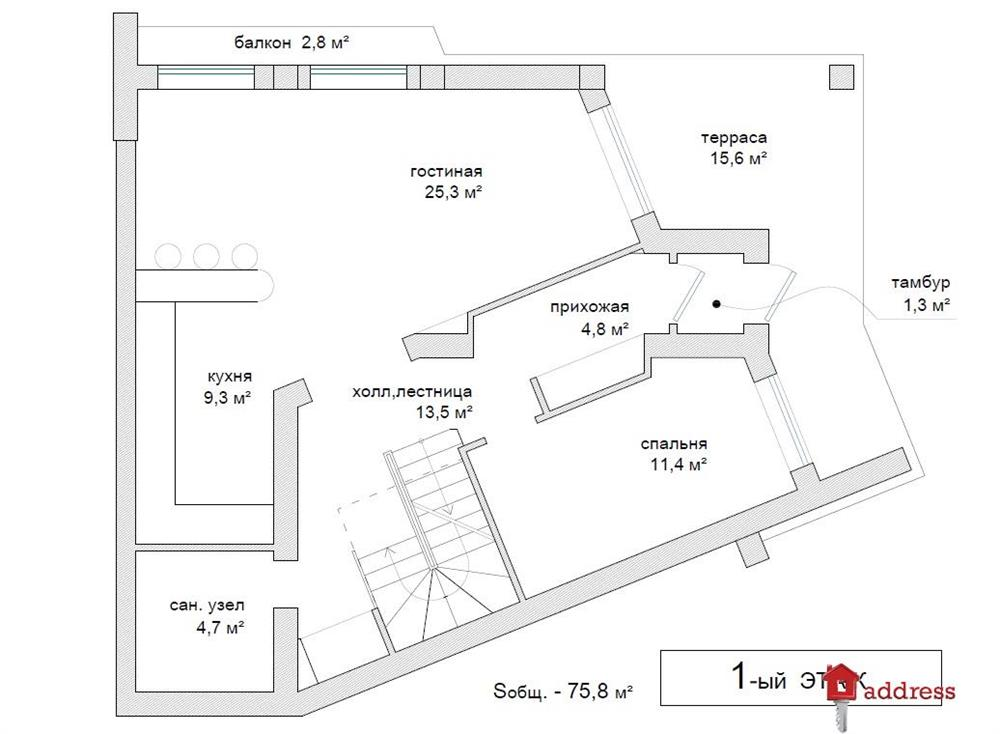 ЖК Городской дом: План этажей дома №4