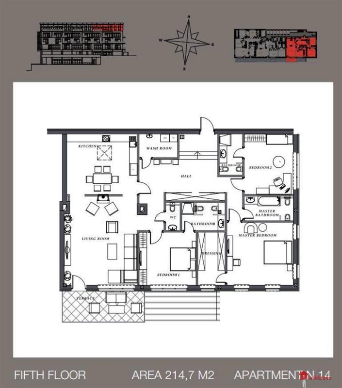 Клубный дом Villa Nr. 1: Двухкомнатные
