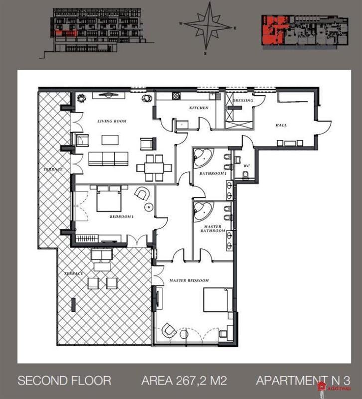 Клубный дом Villa Nr. 1: Трехкомнатные