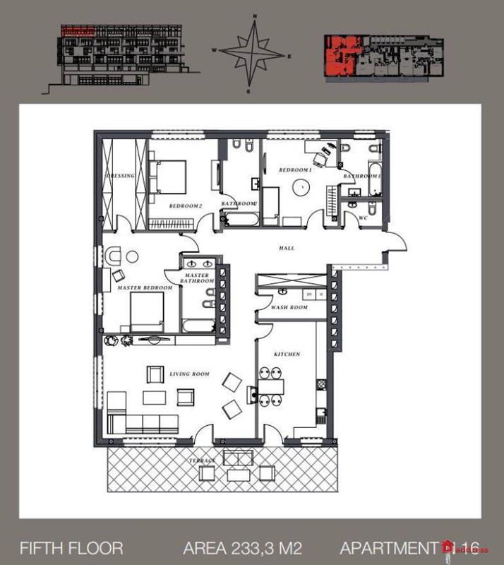 Клубный дом Villa Nr. 1: Четырехкомнатные