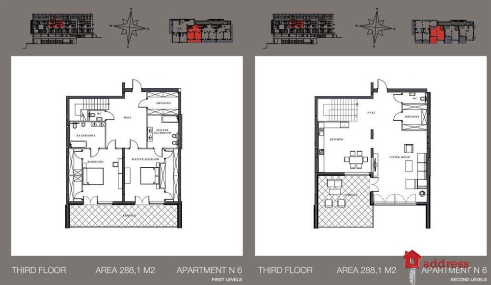 Клубный дом Villa Nr. 1: Двухуровневые