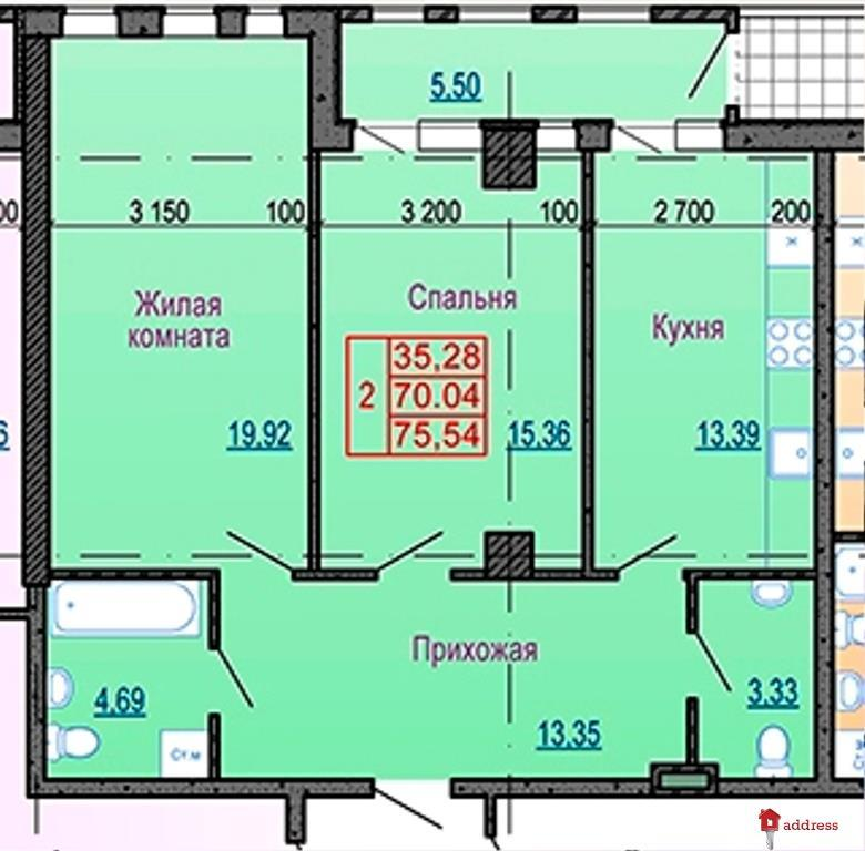 """ЖК """"Павловский квартал"""": Двухкомнатные"""