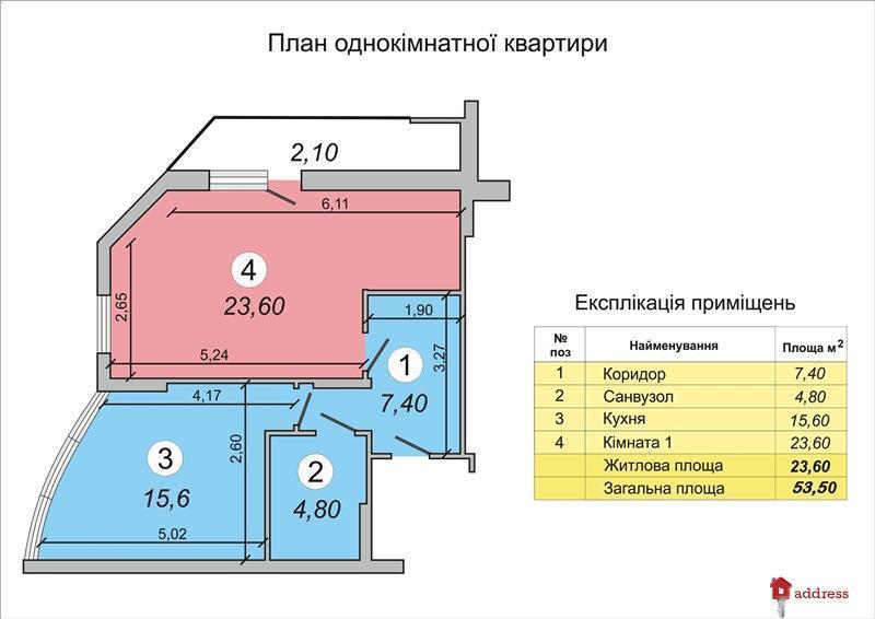 ЖК Васильковский: Однокомнатные