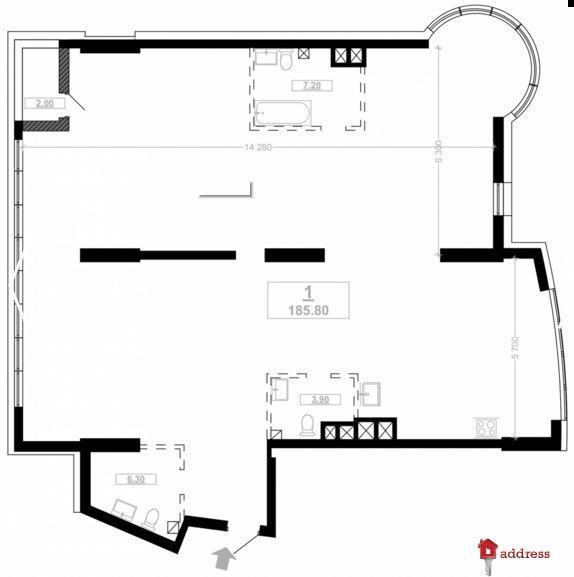 ЖК Busov Hill: Свободные планировки