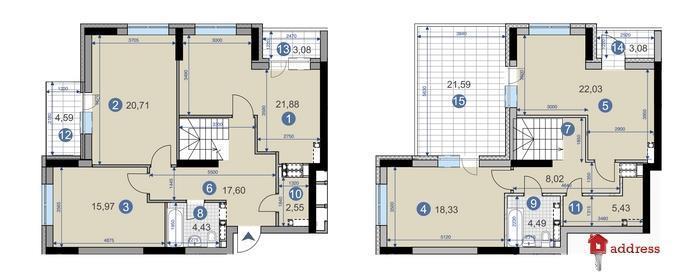 ЖК CAMPUS: 4-комнатные