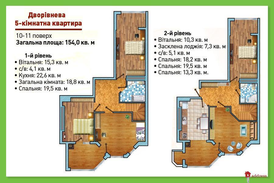 ЖК Святопетровский: 5 комнатные