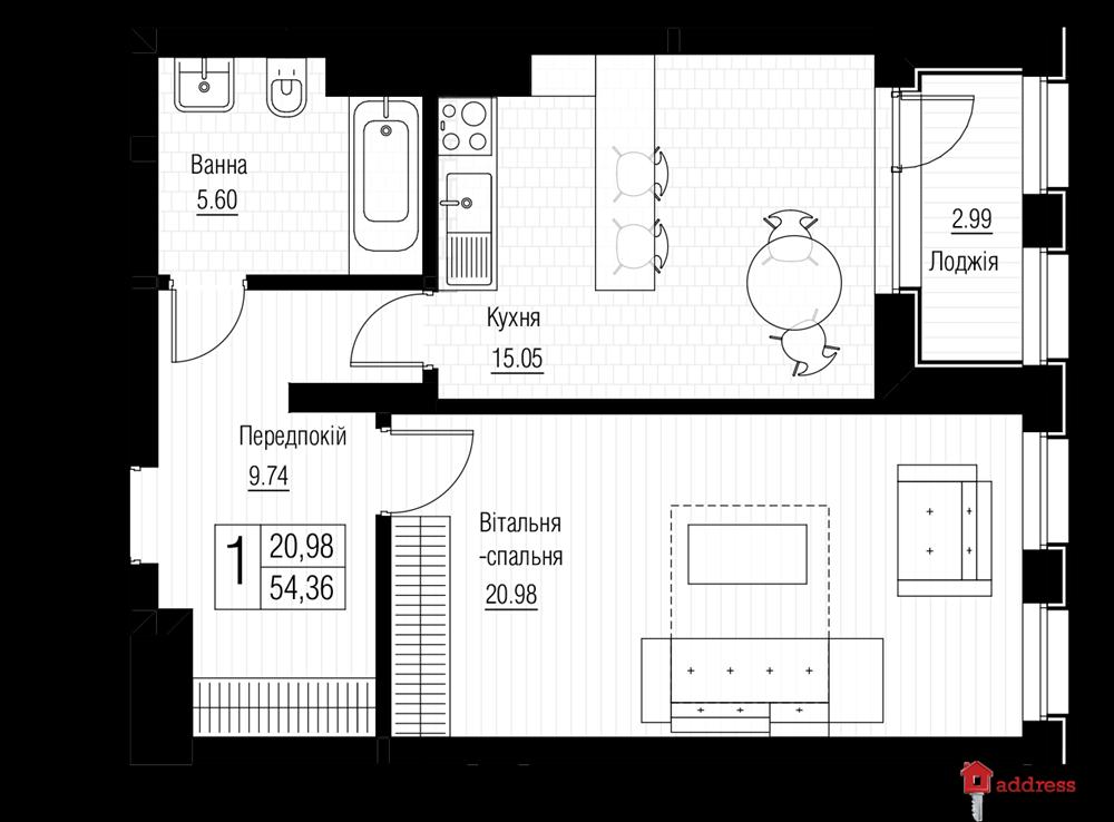 ЖК Chicago Central House: Этаж 9