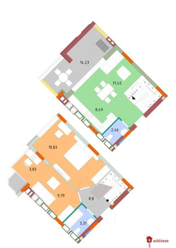 ЖК На Прорезной: 3-комнатные