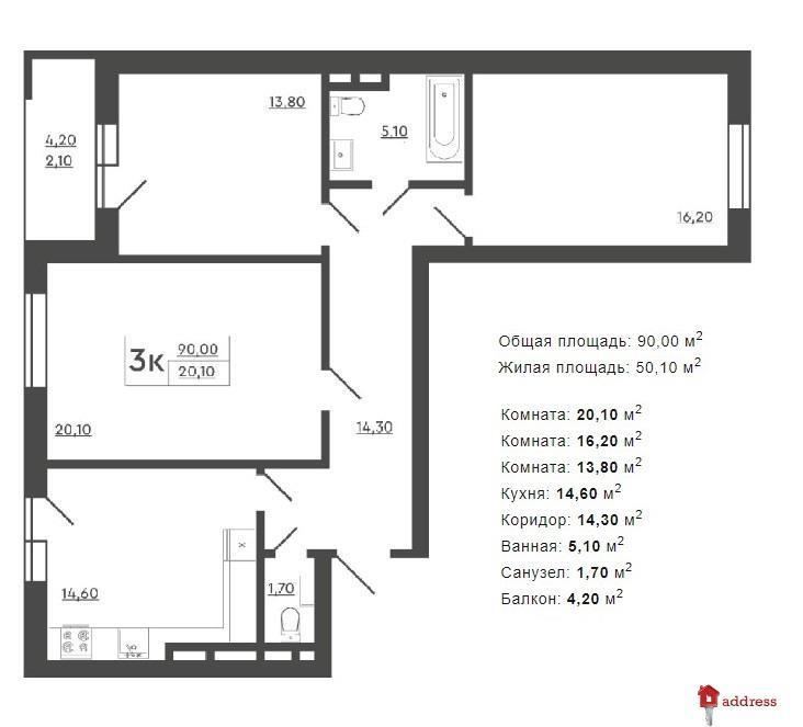ЖК Скандия: Планирование 3-комнатных квартир