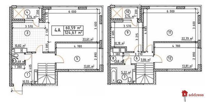 ЖК Бережанский: 4х-комнатные