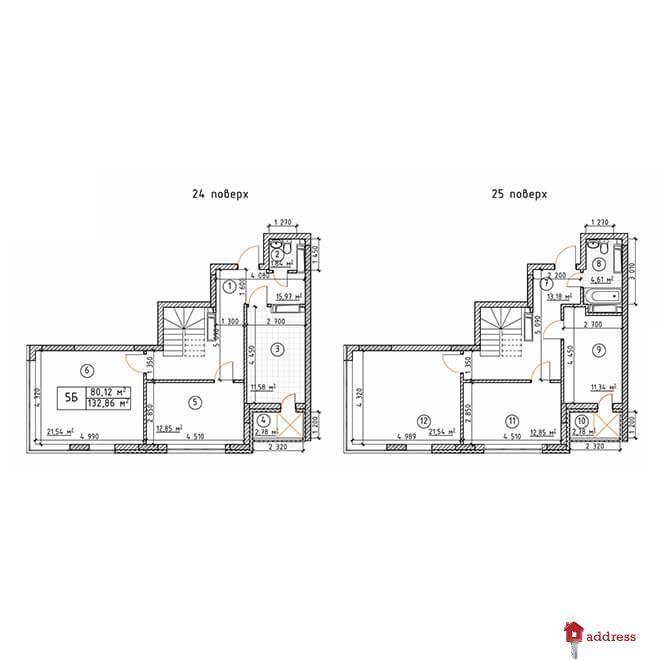 ЖК Бережанский: 5-комнатные