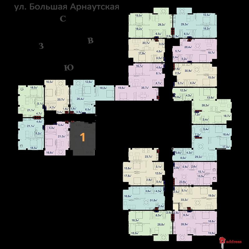 Башня CHKALOV: ЖК Башня CHKALOV