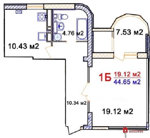 ЖК Комфорт: 1-комнатные