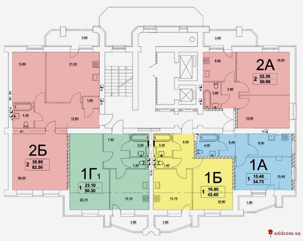 """ЖК """"Уюткино"""": Планировки этажей"""