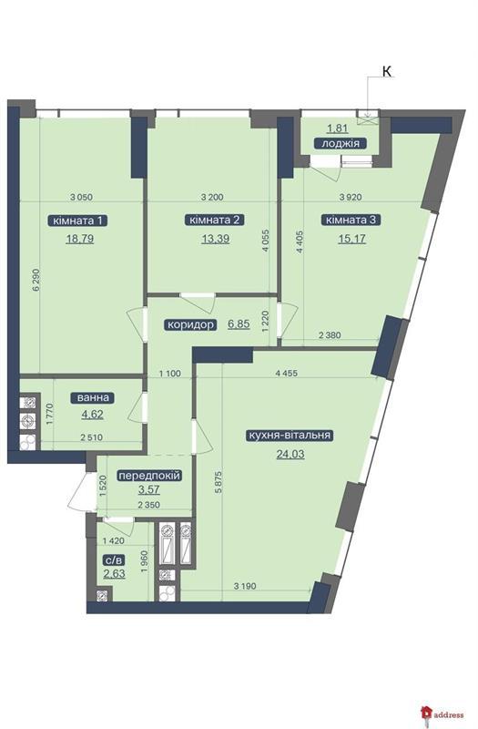 ЖК «Метрополис»: 3-комнатные