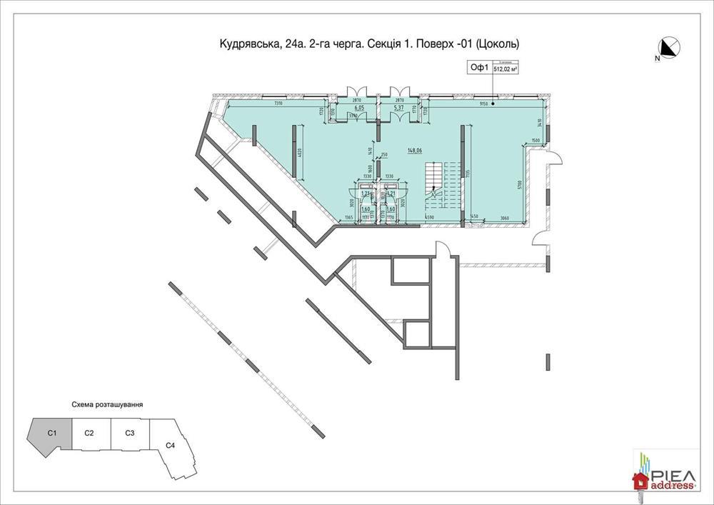 ЖК Львовская Площадь: Секция 1