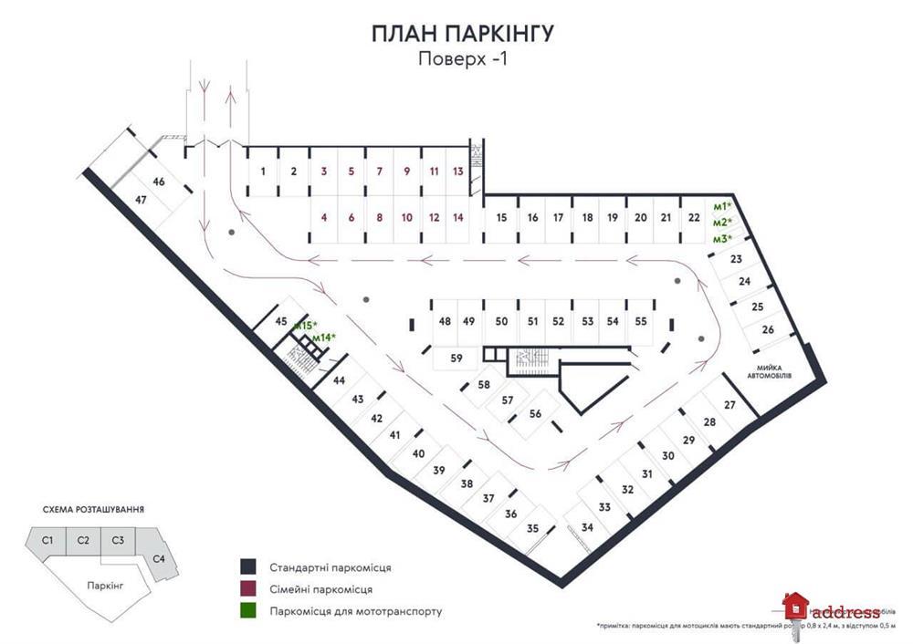 ЖК Львовская Площадь: Паркинг