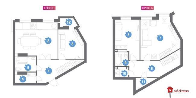 ЖК Family & Friends: 3-комнатные