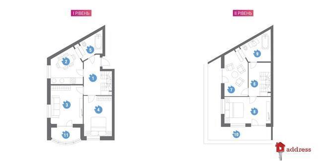 ЖК Family & Friends: 4-комнатные