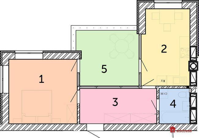 ЖК Найкращий квартал: 1-комнатные