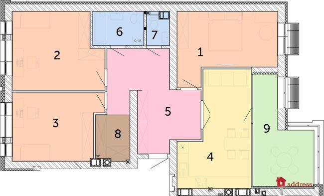 ЖК Найкращий квартал: 3-комнатные