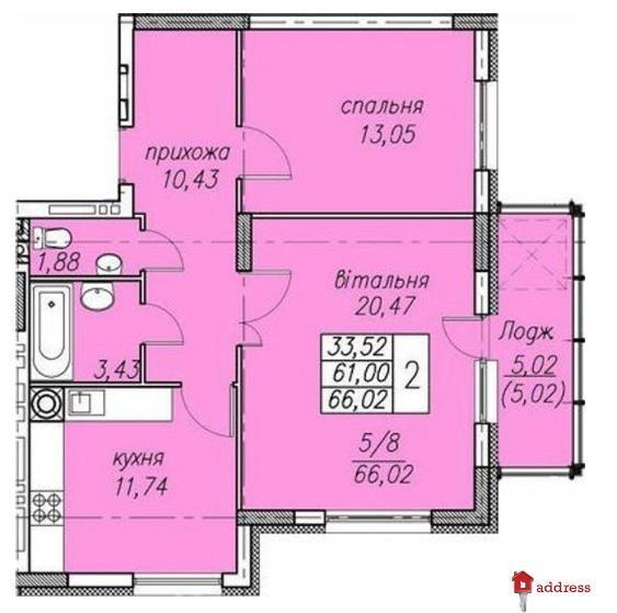 ЖК Панорама: 2-комнатные