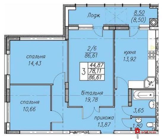 ЖК Панорама: 3-комнатные