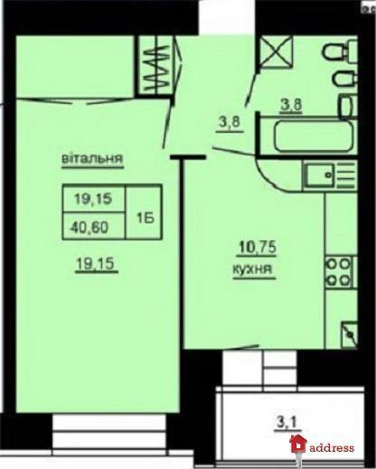 ЖК Парковый комплекс: 1-комнатные