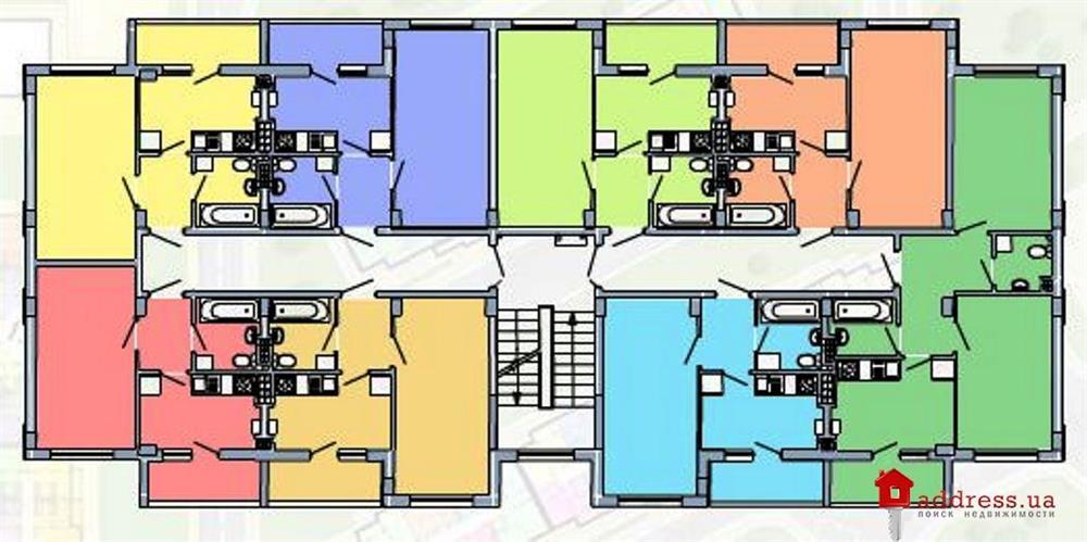 ЖК Седьмое небо: Планы этажей