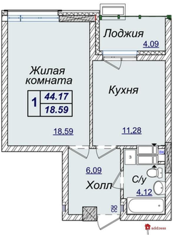 Жилой квартал Новопечерские Липки: Однокомнатные