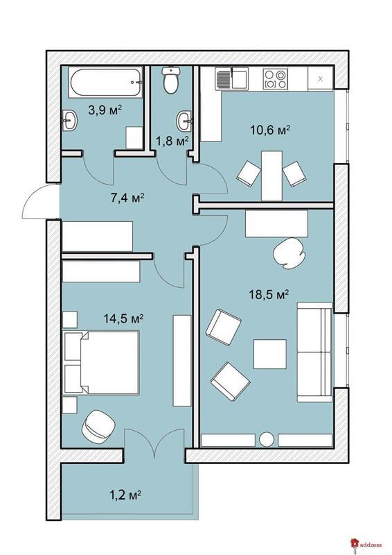 ЖК Покровский Двор: 3 комнатные
