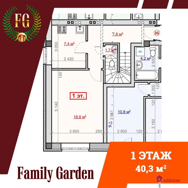 "ЖК ""Family Garden"": Планировки"