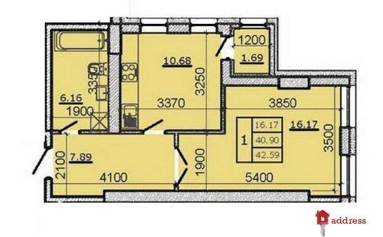 ЖК Метрополь: 1-комнатные