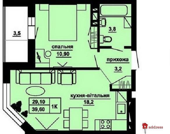 ЖК Manhattan: 1-комнатные