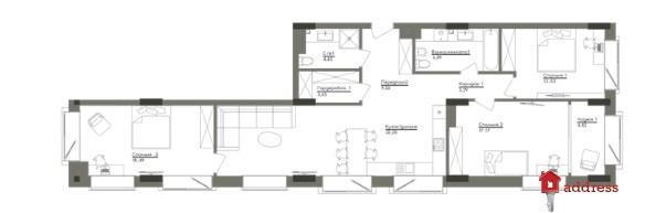 ЖК Washington Concept House: 3-комнатные