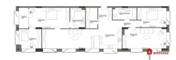 ЖК Washington Concept House: 4-комнатные