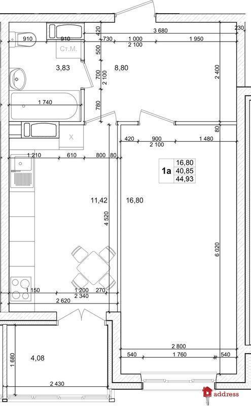 ЖК Вудлайн: 1-комнатные