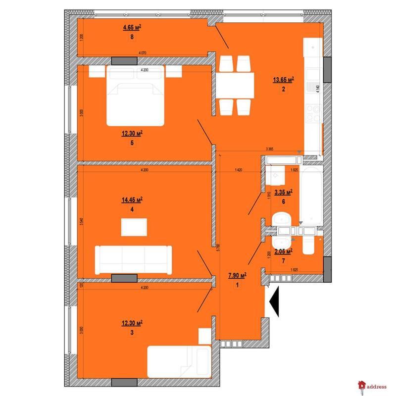 ЖК Forward: 3-комнатные
