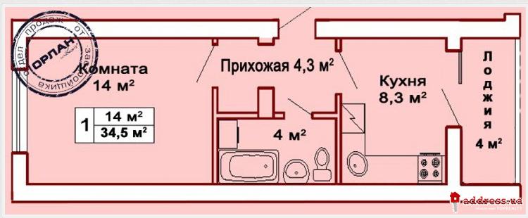 """ЖК """"Пушкинский"""": Однокомнатные"""