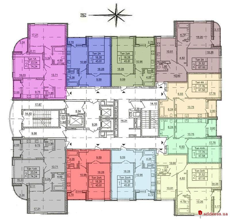 ЖД Позняки-3, участок №19, дом №5: План этажа
